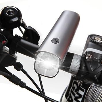 VOGEK Luz Frontal Bici, Lámpara de la Bici del búho, Modos ...