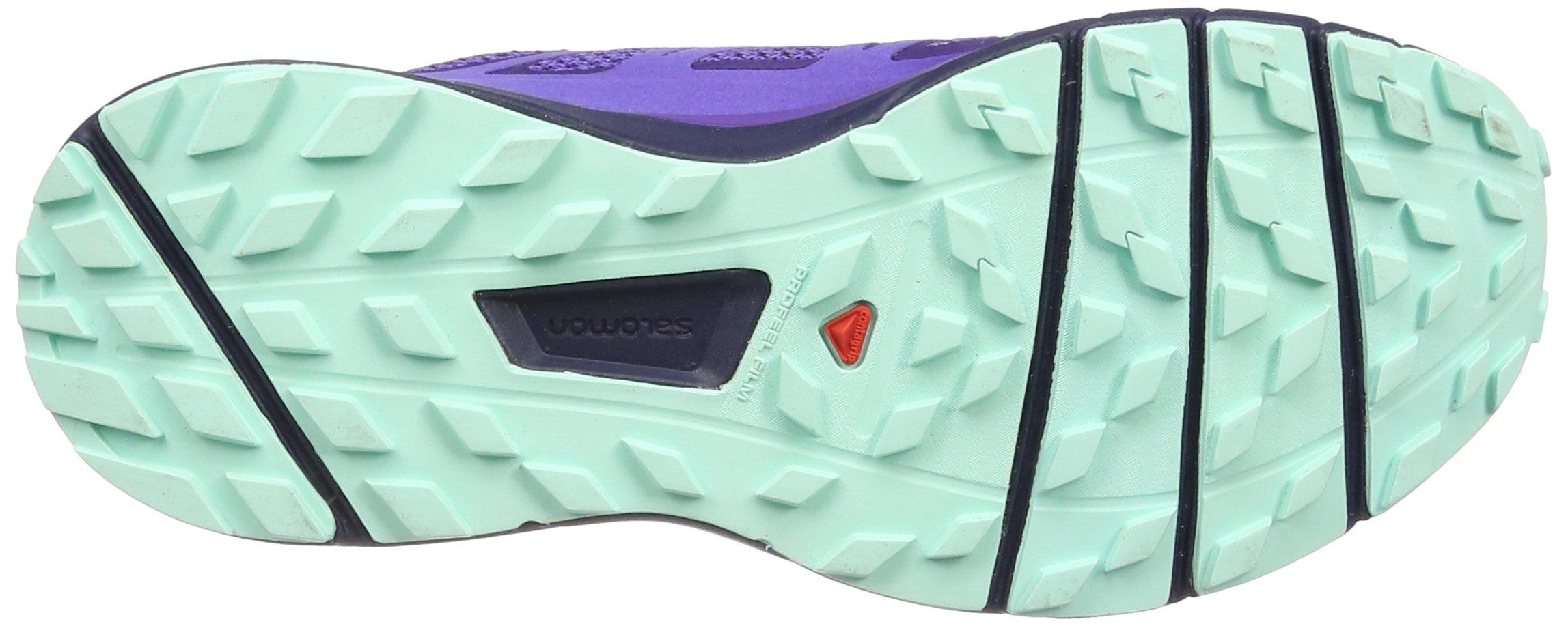 Salomon Women's Sense Ride Running Shoes, Purple, 6.5 M by Salomon (Image #3)