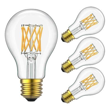 Amazon.com: Yiizon - Bombilla LED de filamento (10 W ...