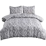 softan Bedding Duvet Cover Set with Zipper Closure & Corner Ties, Soft and Breathable Washed Microfiber Comforter Cover with