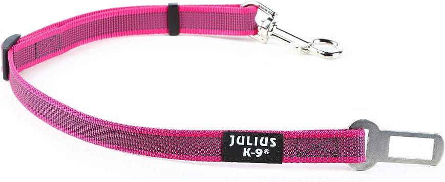 Julius K9 16sga Pn 2 Color Gray Sicherheitsgurt Adapter Für Hunde Größe 2 Pink Grau Haustier