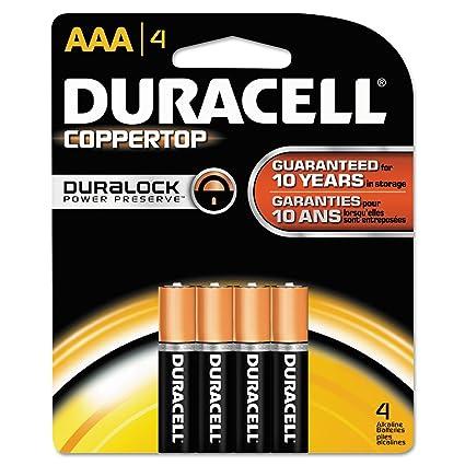 Amazon.com: Duracell tarjeta de tamaño de batería alcalinas ...
