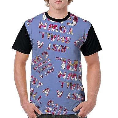 4a916e8d84eb Just A Small Town Girl Tie Dye Men s 3D Pattern Printed Retro Tee T-Shirt