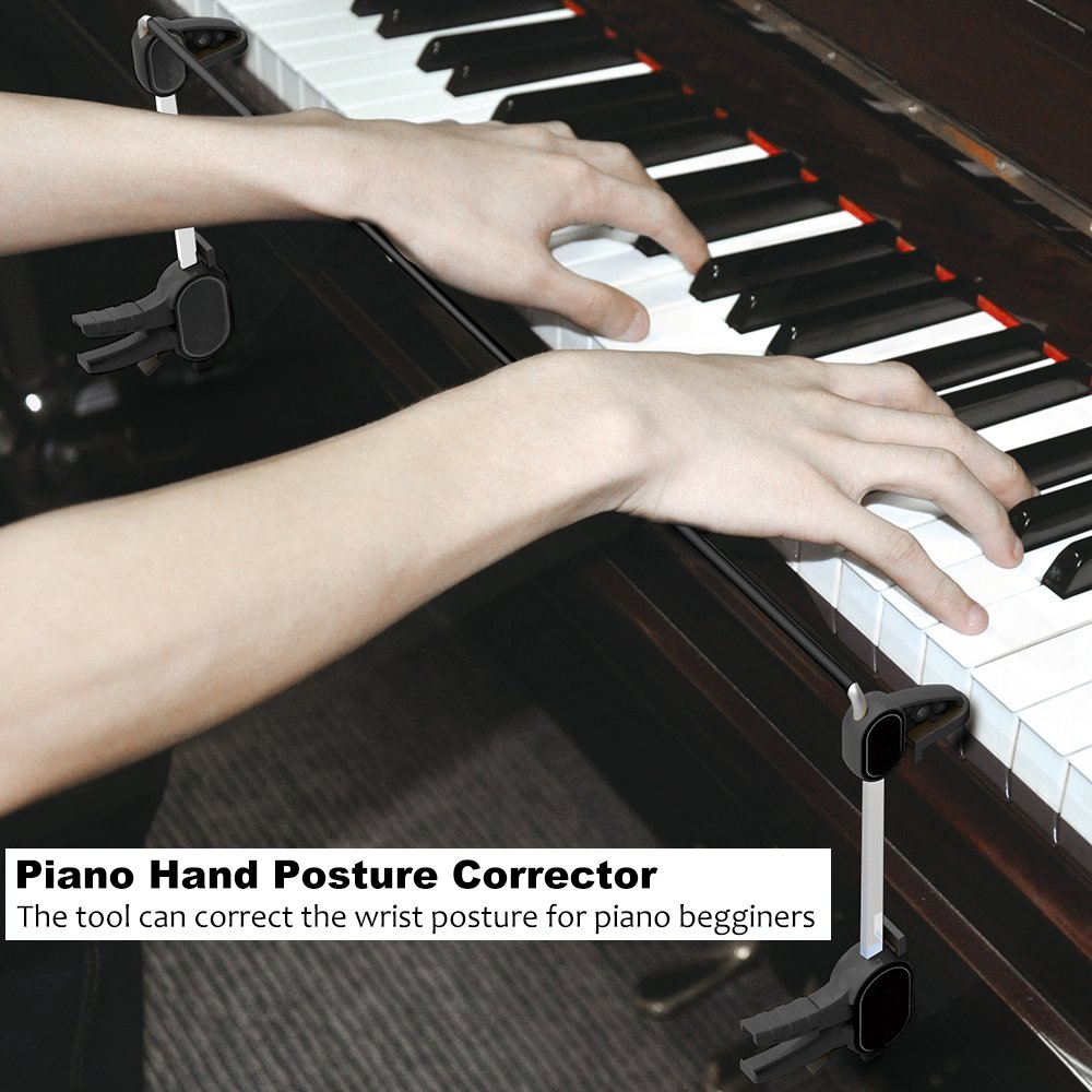Piano Hand Orthoses, Irich Pianist Wrist Corrector Tools Made of Stainless Steel - for Beginners, Children & Practice by Irich (Image #5)