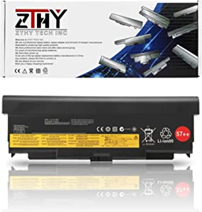 ZTHY New 9Cell 57++ Battery Replacement for Lenovo ThinkPad T440P T540P W540 W541 L440 L540 Series Laptop 45N1152 45N1153 45N1162 45N1163 45N1145 45N1147 45N1149 0C52864 0C52863 11.1V 8960mAh