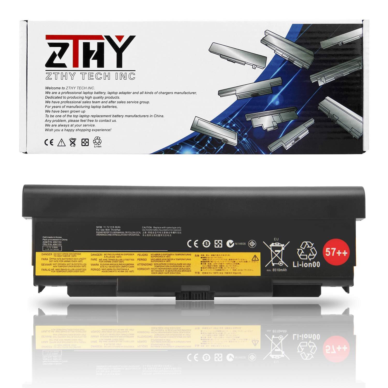 Bateria ZTHY 9 celdas 57++ para Lenovo ThinkPad T440P T540P W540 W541 L440 L540 Series 45N1152 45N1153 45N1162 45N1163 4
