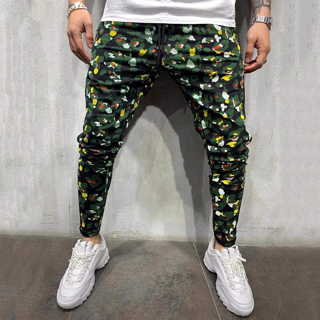 Men's Casual Jogger Pants Slim Fit Stretch Sweatpants Trouser Outdoor Hiking Sweatpants with Pockets M-XXL by VEZARON (Image #2)