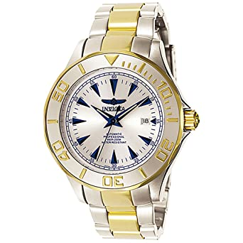 Amazon.com: Invicta Mens 7036 Signature Collection Pro Diver Ocean Ghost Two-Tone Automatic Watch: Invicta: Watches