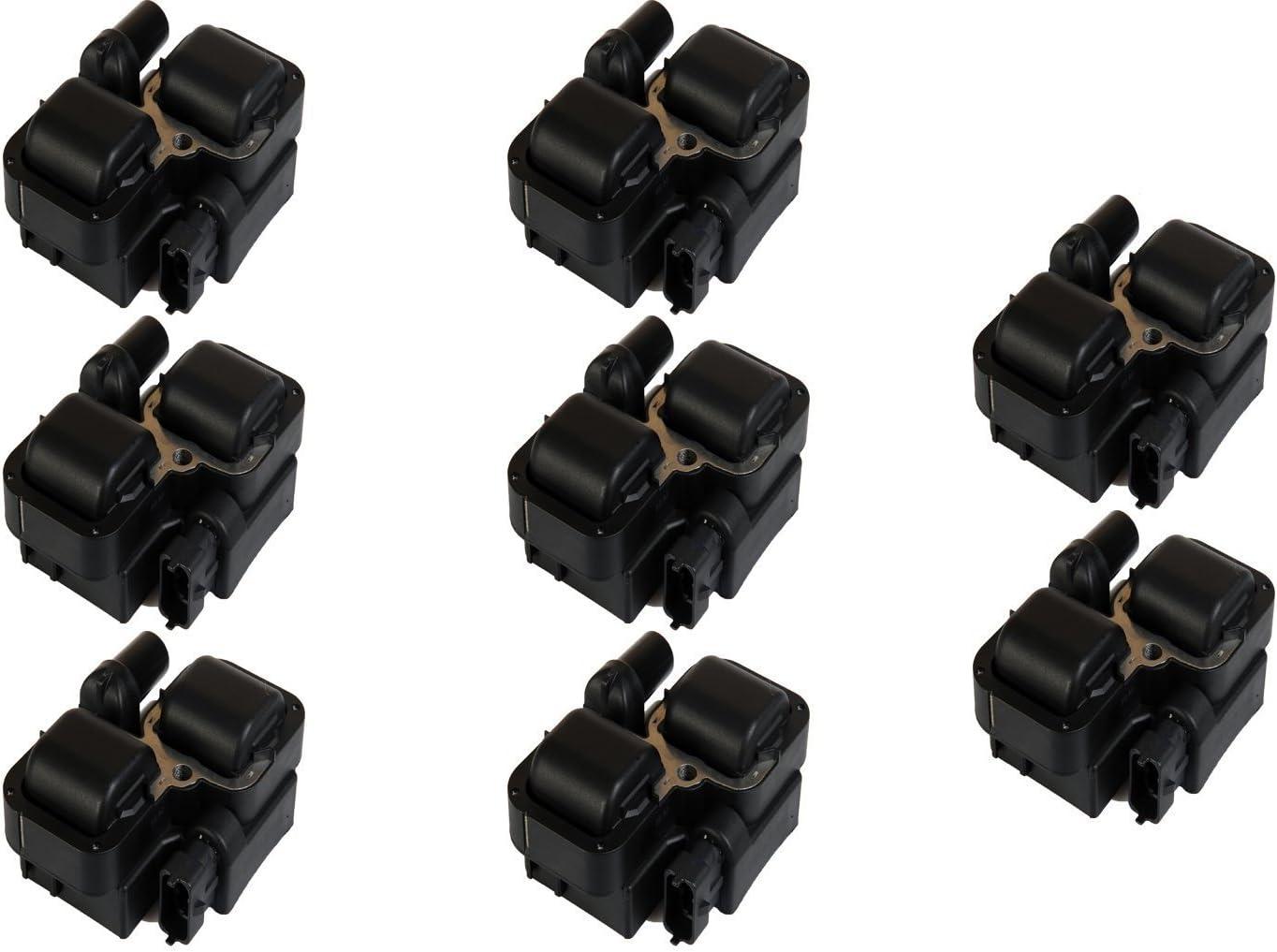 Quality Ignition Coil 8PCS Mercedes-Benz C230 C280 C300 CL CLK CLS E G GL ML SL