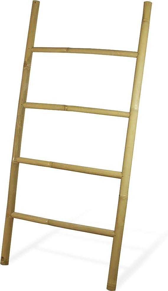 MyGift - Escalera decorativa de bambú para toallas de pared, 152,4 cm: Amazon.es: Juguetes y juegos