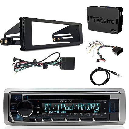 Amazon.com : Kenwood KMRD375BT Marine CD Bluetooth Radio ... on