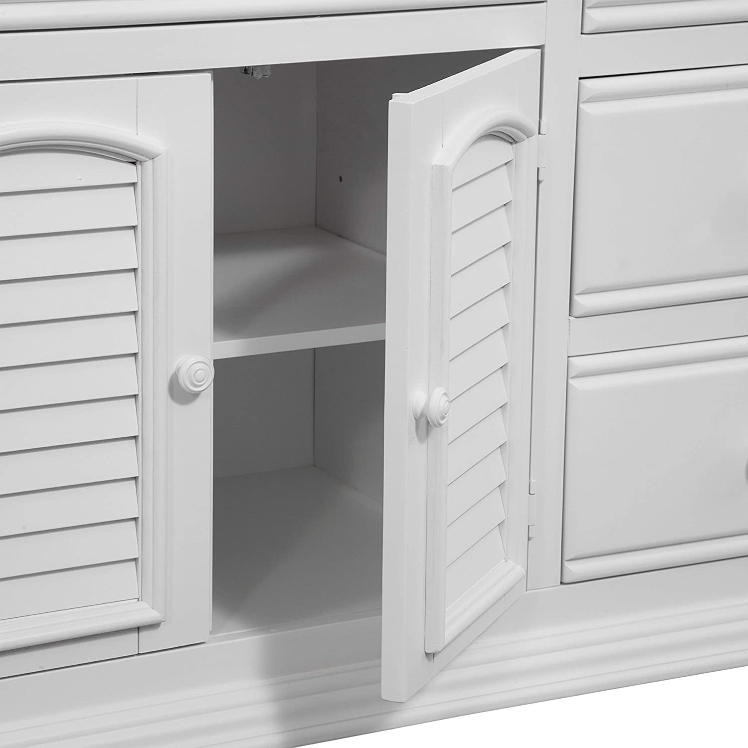 Amazon.com: Cottage Tradiciones 6510 Triple Dresser: Kitchen ...