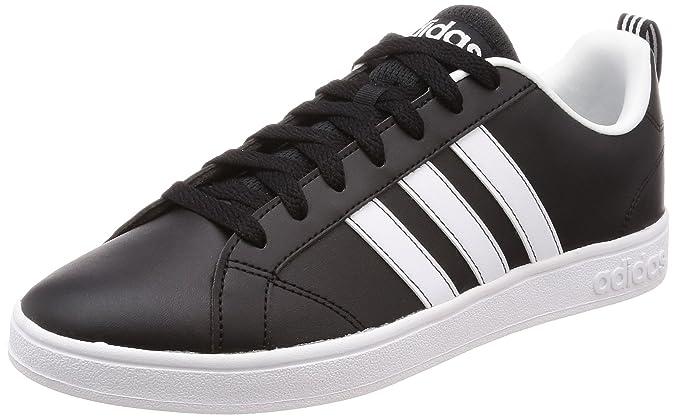 adidas Vs Advantage, Chaussures Homme, Noir (Core Black/Footwear White/Footwear White), 39 1/3 EU