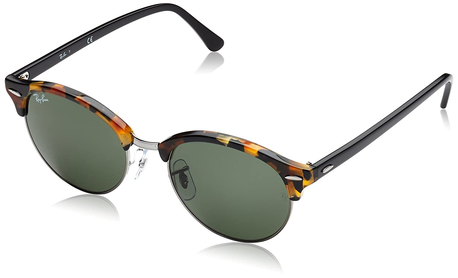 83cdf0a2c9b Amazon.com  Ray-Ban CLUBROUND Round Sunglasses