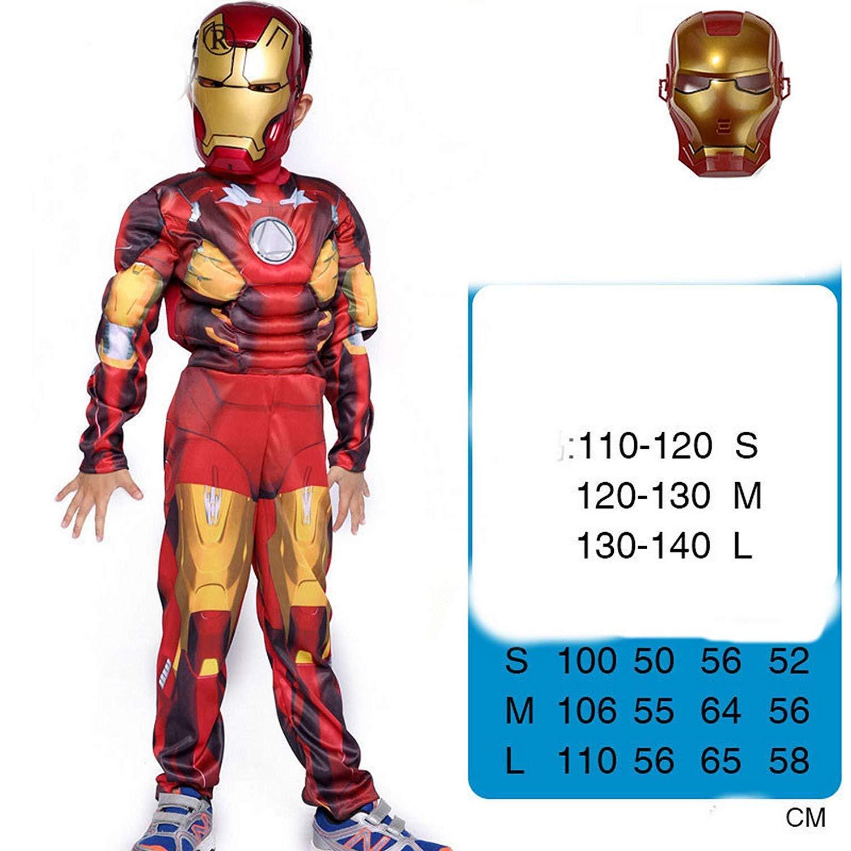 pequeños monelli Traje Iron Man bebé 7 - 10 años Vestido ...