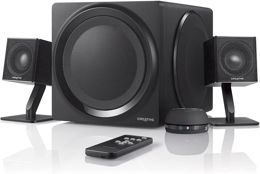 Creative 51MF0430AA002 T4W 2.1 Wireless Bluetooth Speaker System