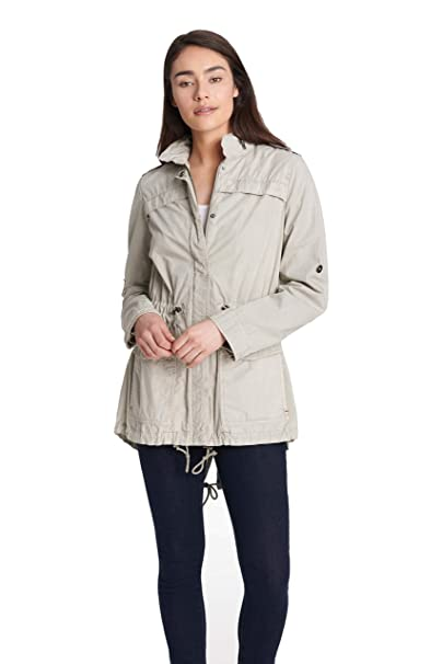 Amazon.com: Levis Anorak ligero de algodón para mujer: Clothing