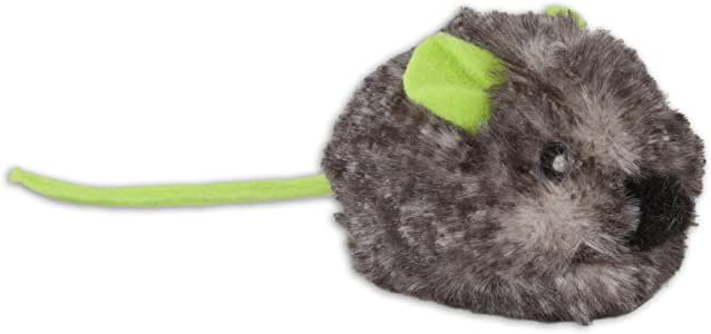 Jackson Galaxy Motor Mouse Cat Toy W/Catnip, Assorted Colours