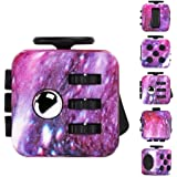 Galaxy Fidget Toy Cube Relieves Stress and Anxiety, Anti-stress/Anti-anxiety Fidget Toys for Children, Teen, Students, and Adults