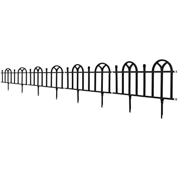 Perfect Victorian Garden Border Fencing Set By Pure Garden
