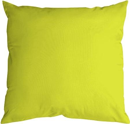 Cuscini Verde Acido.Lovely Casa C04689009 Nelson Cuscino In Cotone 40 X 40 Cm