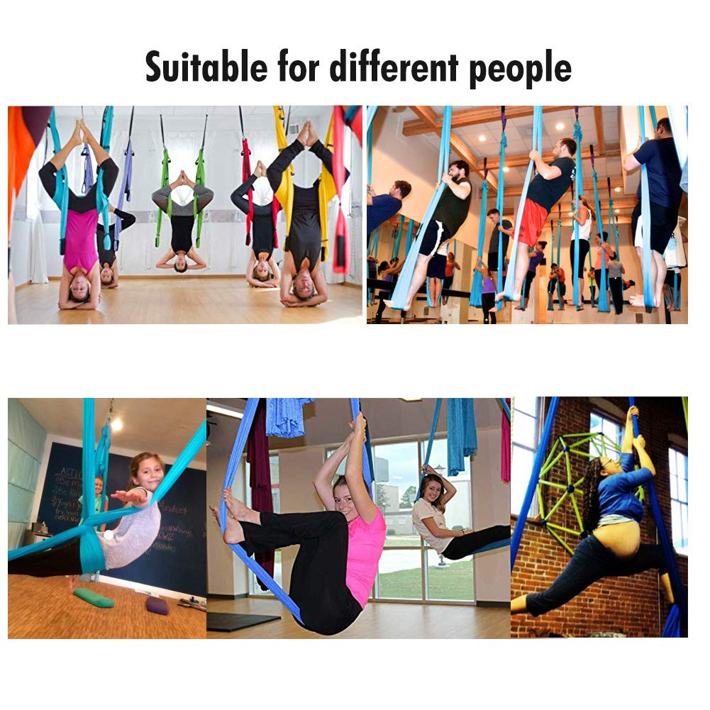 Pellor - Hamaca Correa Volar para AntiGravity Yoga Pilates aérea