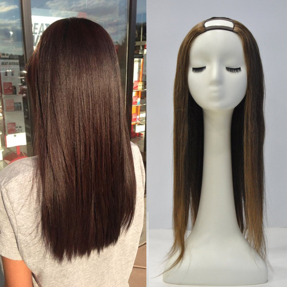 Amazon Full Shine 18 One Piece Hair Extensions Clip In Human