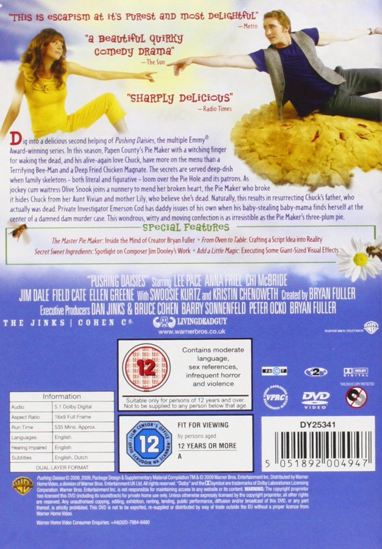 f35628be79d4 Pushing Daisies - Complete Season 2  DVD   2009   Amazon.co.uk  Lee Pace