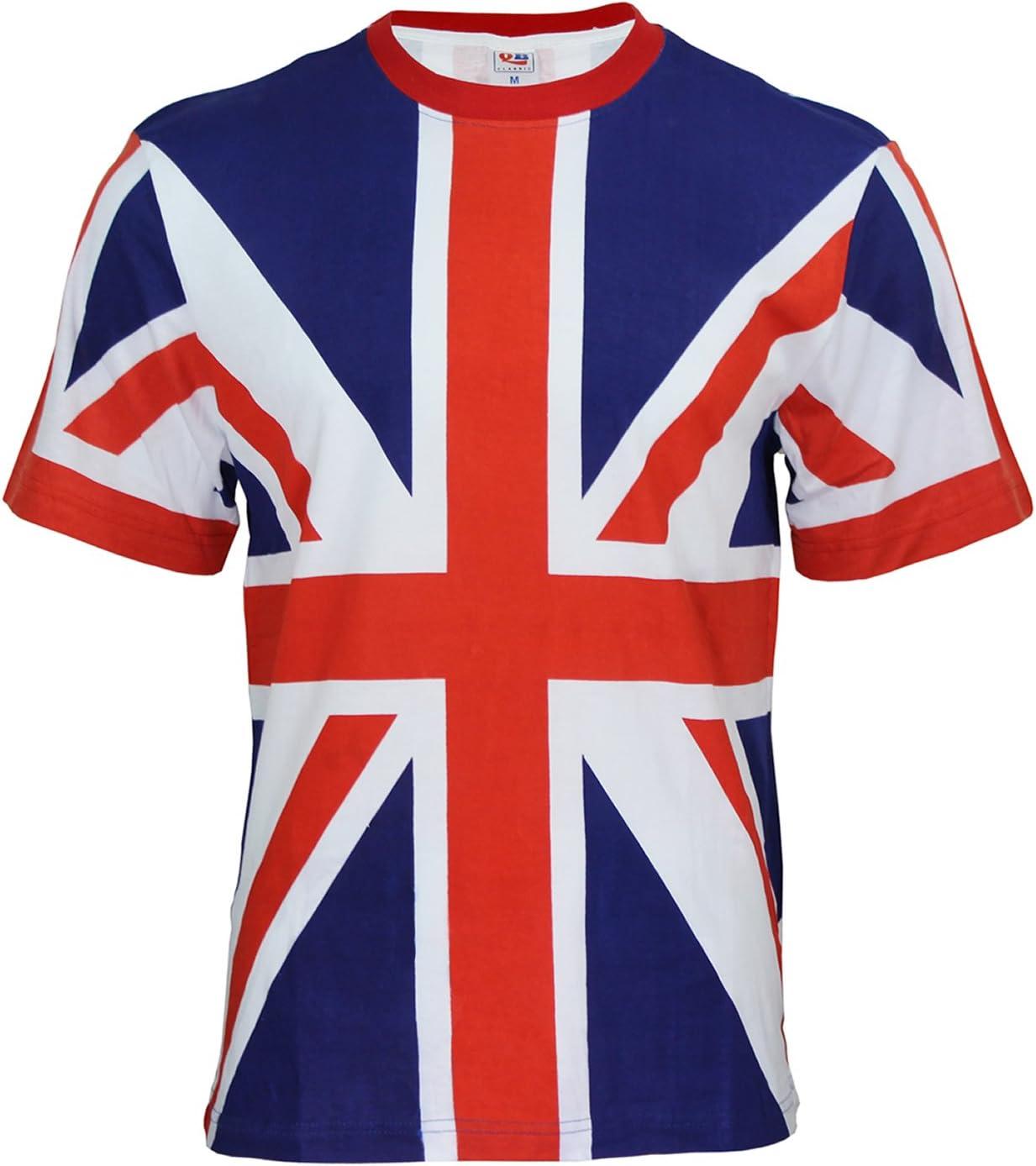 New With Tags Men/'s Fashion Union Blue T-Shirt 100/% Cotton Medium