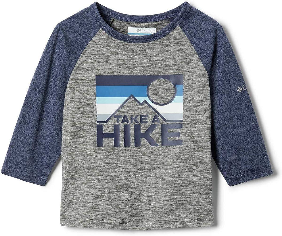 Columbia Kids /& Baby Outdoor Elements 3//4 Sleeve Shirt