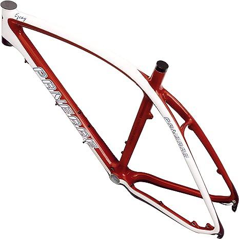 PANERAE Cuadro Bicicleta Fibra Carbono MTB + Tija + Cierre ...