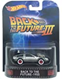 "Back To The Future 1955 Time Machine ""Back To The Future Part Iii"" Hot Wheels 2015 Retro Series 1/64 Die Cast Vehicle"