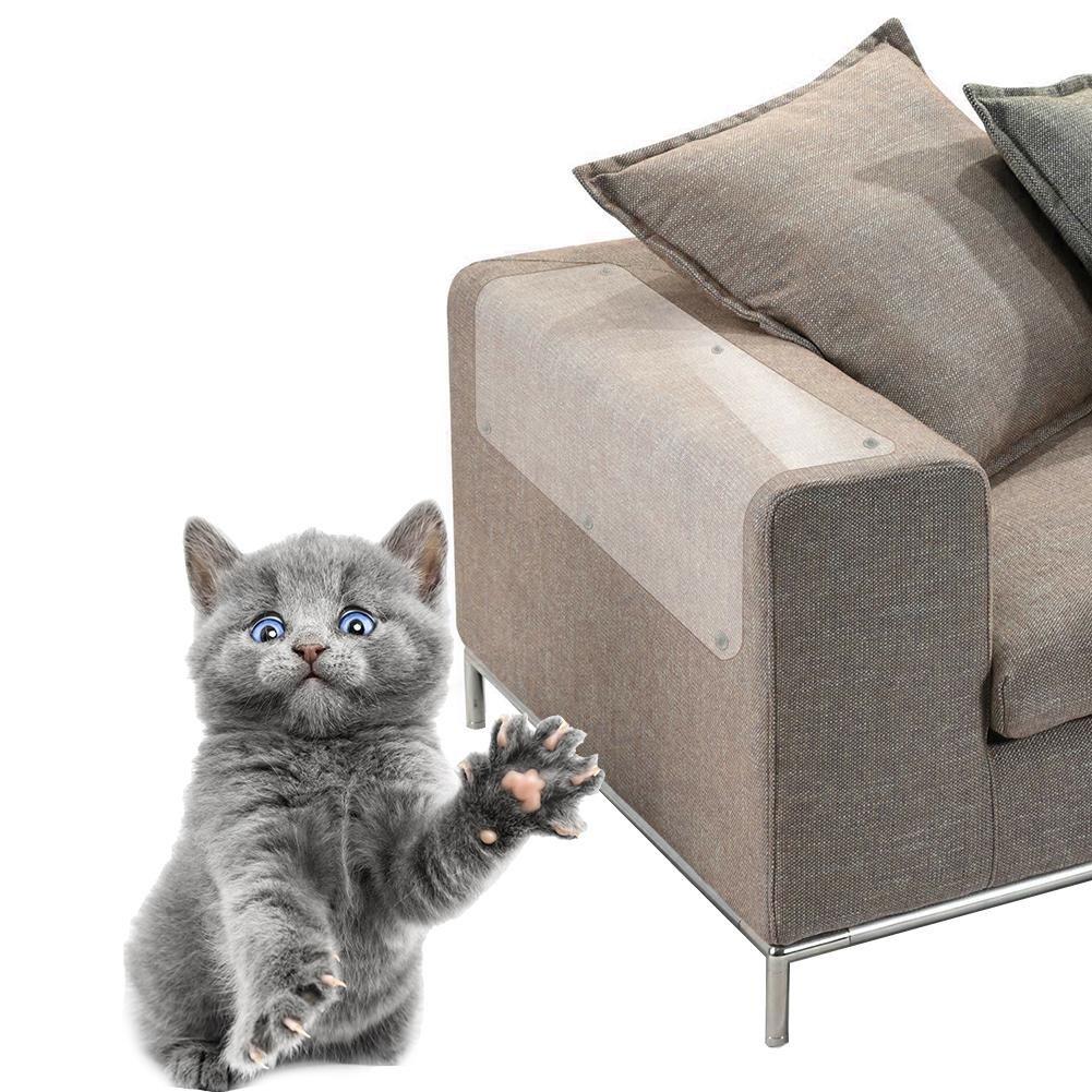 Canapé housse de protection anti-rayures canapé protection de la maison film anti-chat scratch pad meubles anti-rayures protection Following