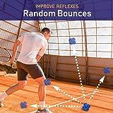 Juvale 2-Pack Rubber Reaction Bounce Balls for