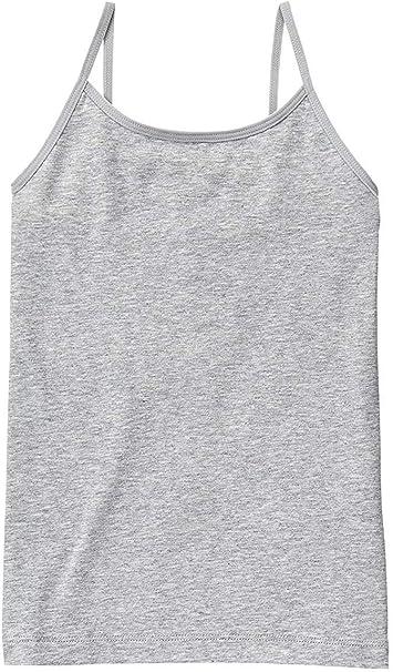 ToBeInStyle Girls Adjustable Strap Scoop Neck Cotton-Spandex Blend Camisole
