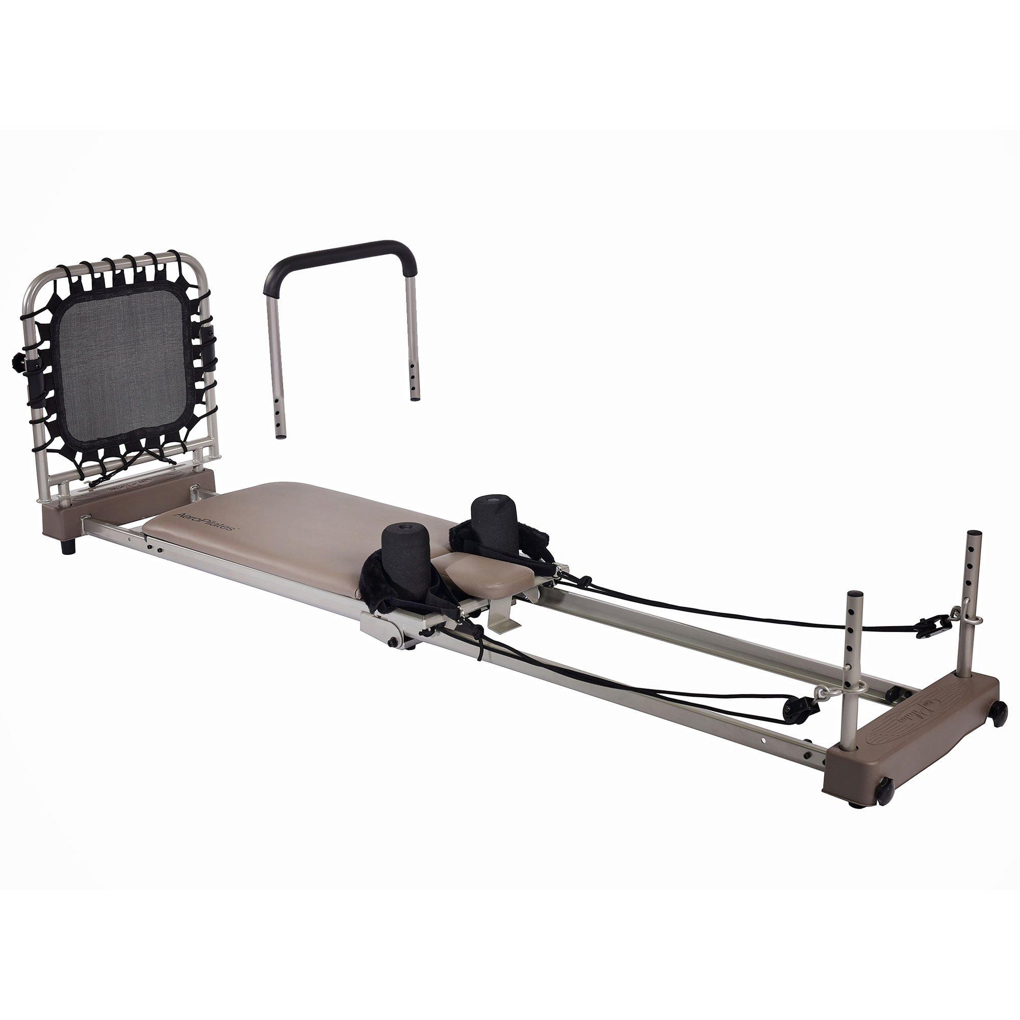 Stamina AeroPilates Reformer 369 Workout Fitness Machine with Cardio Rebounder