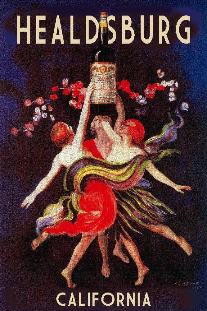 【特別訳あり特価】 ヒールスバーグ – レディースDancing Print withワイン 11 x 14 24 Matted Art x Print LANT-55859-11x14M B014ZQVLRA 16 x 24 Giclee Print 16 x 24 Giclee Print, 極味道:3ed8ef86 --- mcrisartesanato.com.br