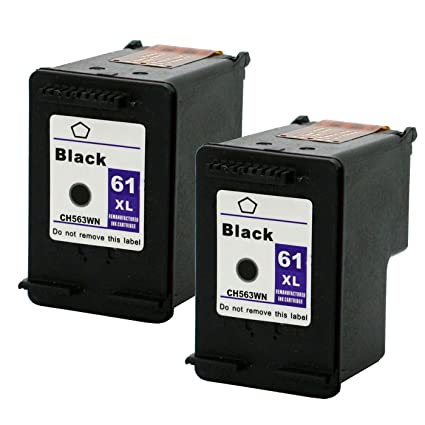 Eston 2 unidades # 61 x l (ch563 W) negro cartuchos de tinta para ...