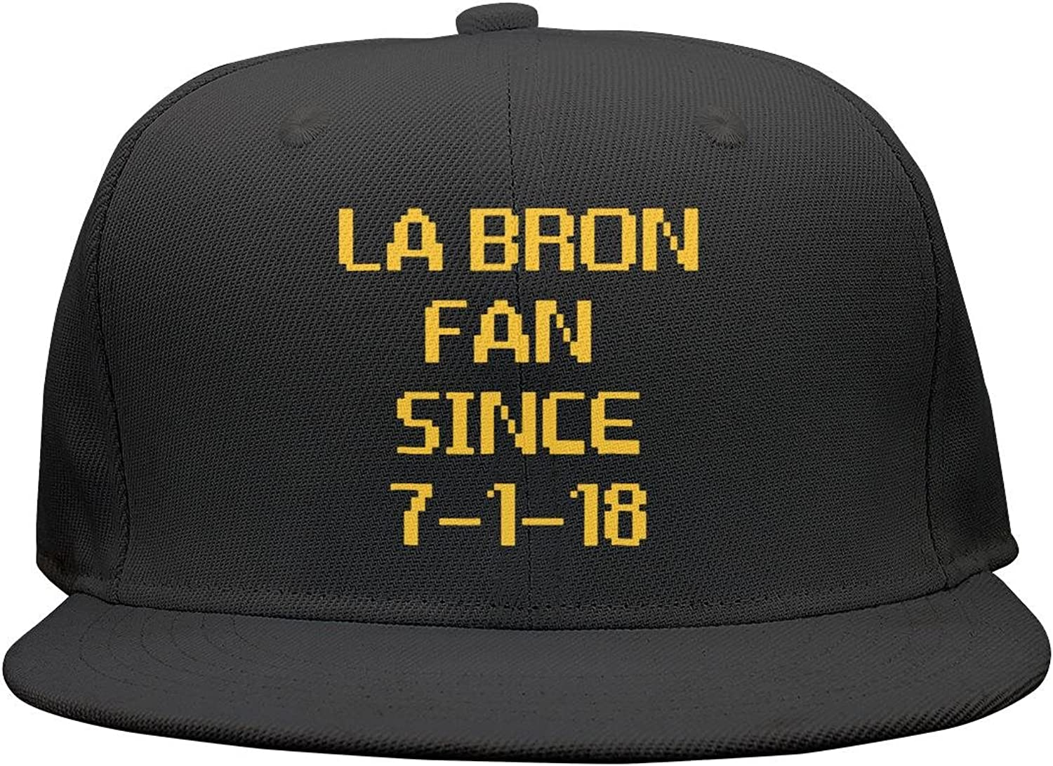 SJSNBZ Orange-LABRON-Creative-Basketball-Crown Mens Womens Breathable dad Hat