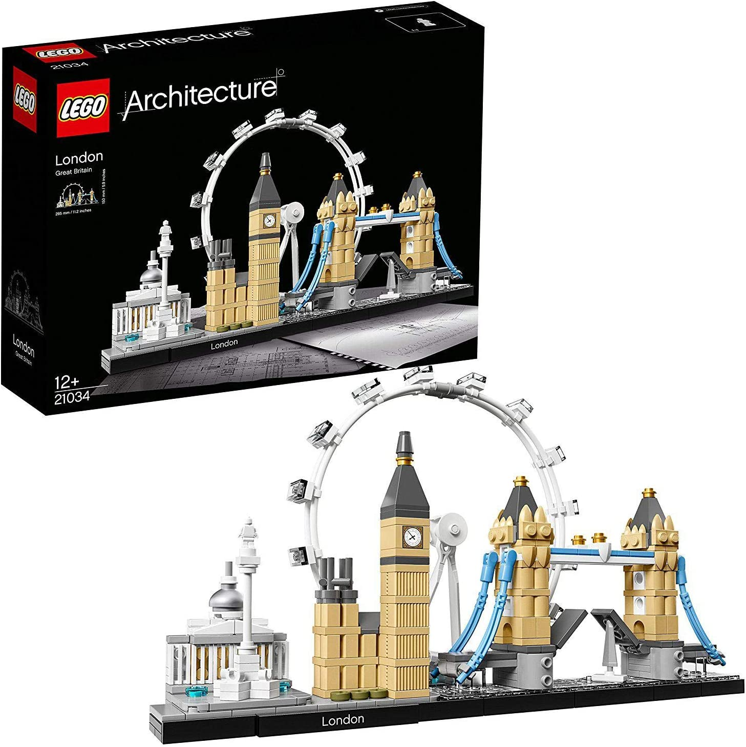 LEGO 21034 Architecture London Skyline Model Building Set £25.48 @ Amazon