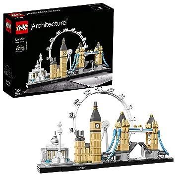 21e9390ec LEGO 21034 Architecture London Skyline Building Set, London Eye, Big Ben,  Tower Bridge
