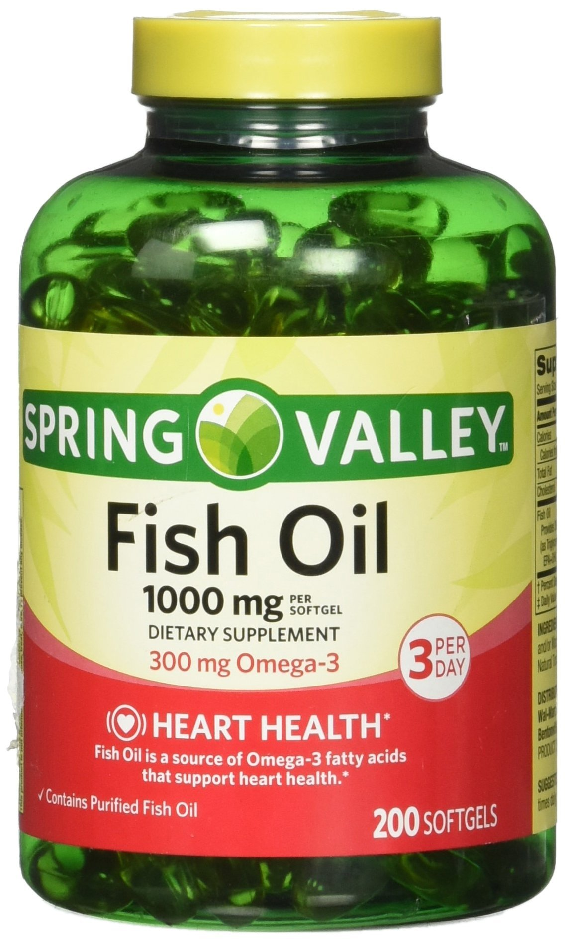 Spring valley vitamin c with rose hips 1000 for Organic fish oil