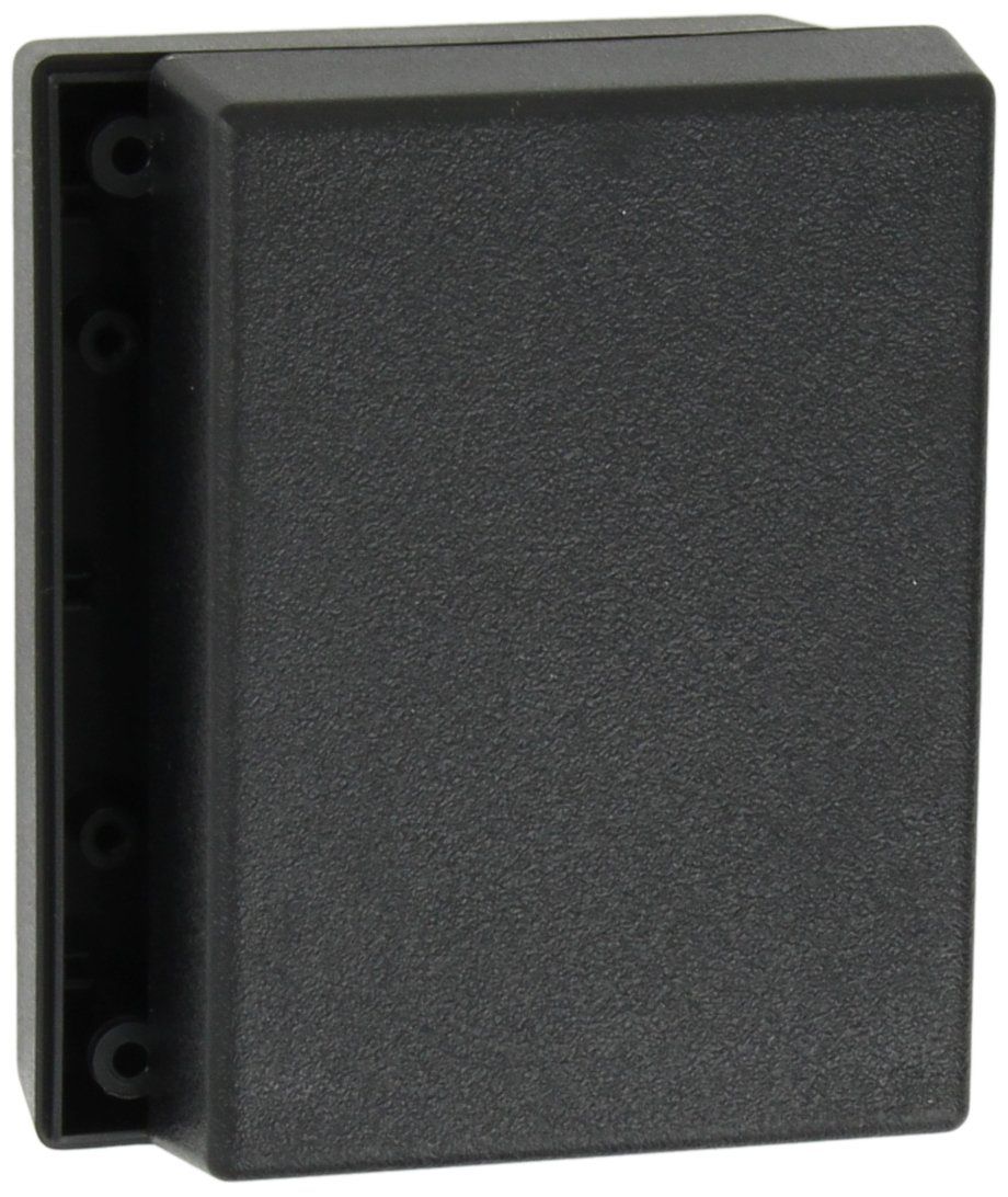 Serpac 131 ABS Plastic Enclosure, 4-3/8'' Length x 3-1/4'' Width x 1-1/2'' Height, Black