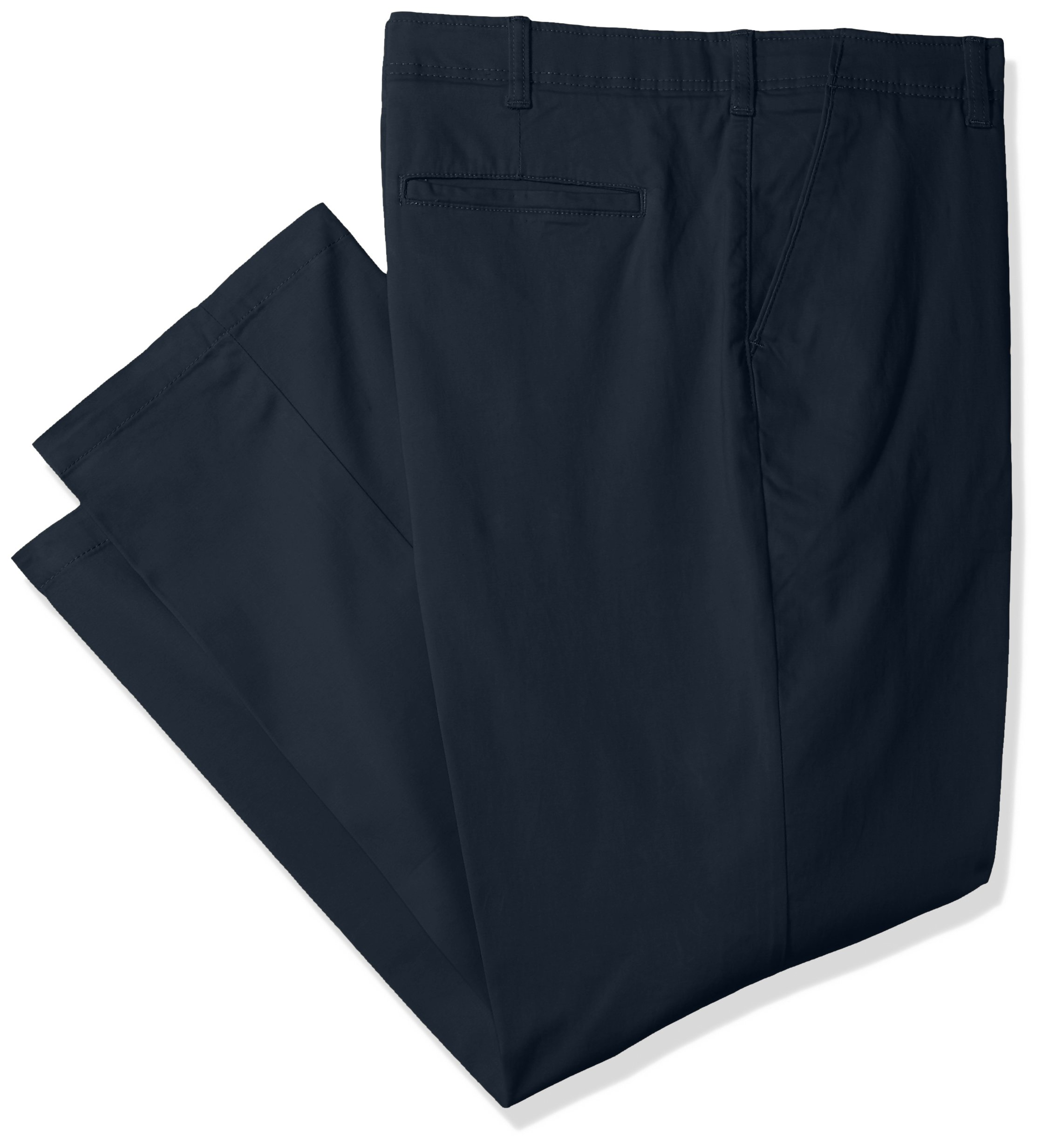 LEE Men's Big Tall Performance Series Extreme Comfort Pant, Navy, 42W x 30L