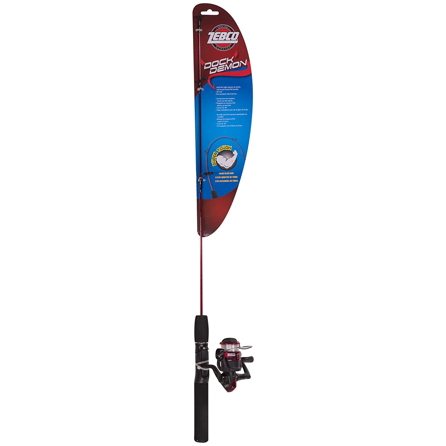 Zebco Fishing Dock Demon Spinning Combo
