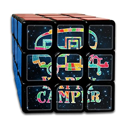 Amazon Com Colorful Happy Camper 3x3 Smooth Speed Magic Rubiks Cube
