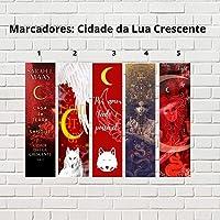 Kit de Marcadores de página - Cidade da Lua Crescente (5 unidades)