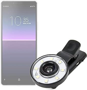 DURAGADGET Flash Selfie Compatible con Smartphone Sony Xperia 10 ...