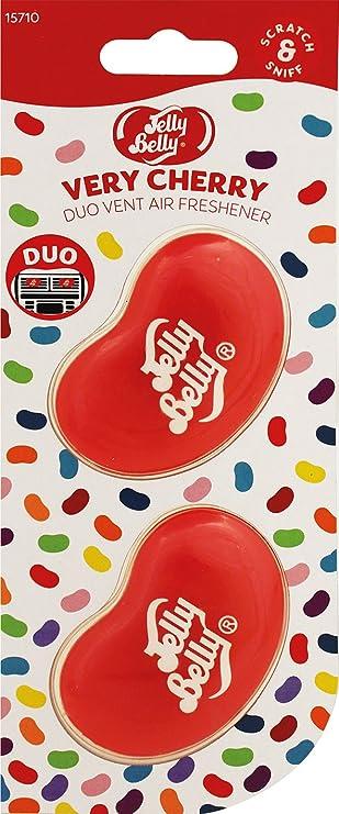 Jelly Belly 15710a 3d Gel Mini Vent Lufterfrischer Duo Pack Very Cherry Auto
