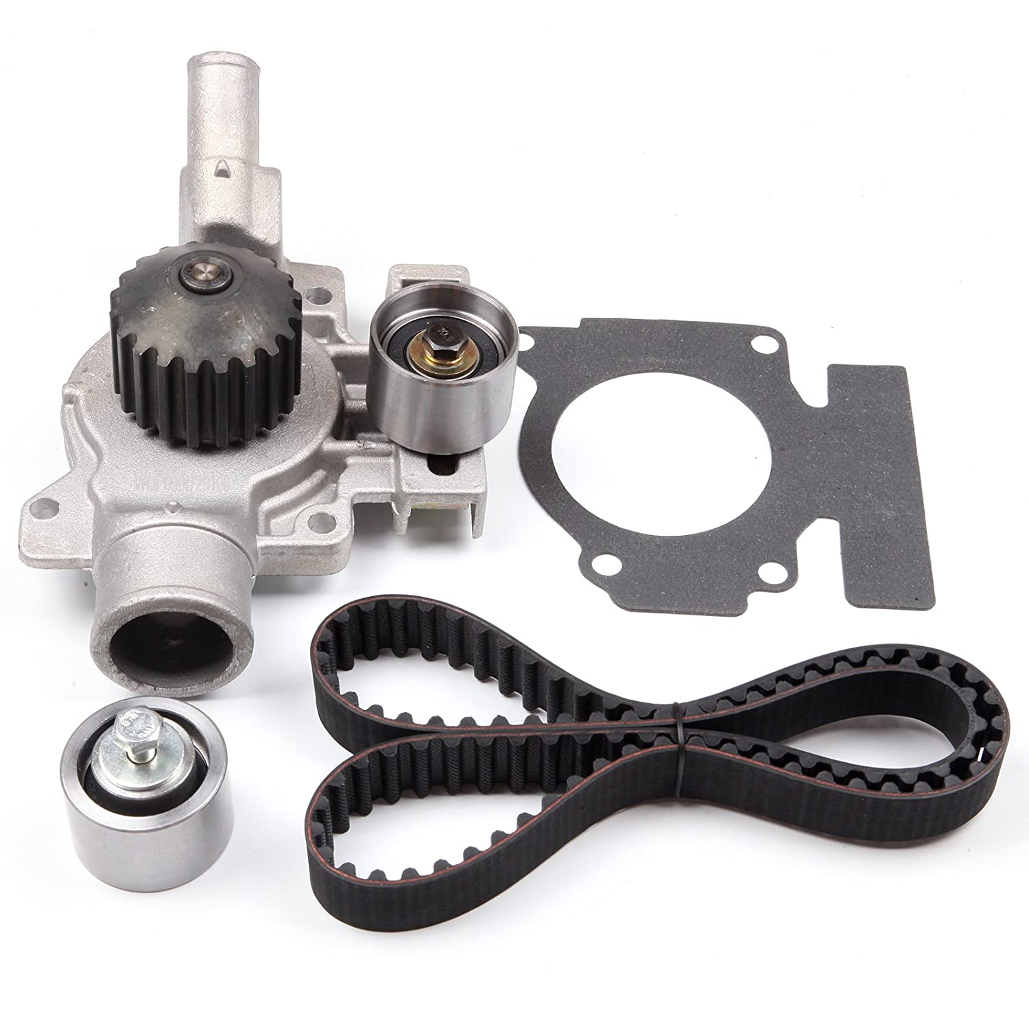 Scitoo Fits 92 96 Ford Escort Tracer 19 L Sohc Timing Jeep Engine Belt Failure Kits Water Pump Set Automotive